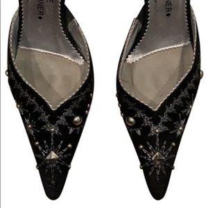 Couture Donal J Pliner mule shoe